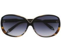 Oversized-Sonnenbrille in Schildpattoptik