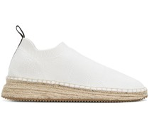 Dylan low knit espadrilles
