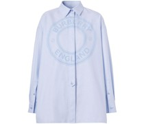 Oxford-Hemd im Oversized-Look