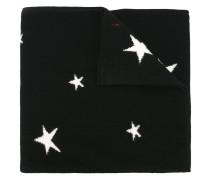 Kaschmirschal mit Intarsien-Sternen
