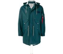 multi-pocket raincoat