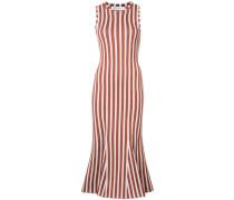 - Gestreiftes Kleid mit schmaler Passform - women