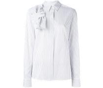 Gestreiftes Hemd mit Schleife