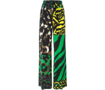 'Wild Patch' trousers