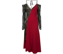 Kleid im Kontrast-Look