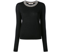 embellished neck jumper - women