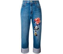 Jeans mit Applikationen - women