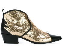 Cowboy-Stiefel aus Leder