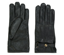 buckled gloves