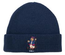 Mütze mit Bär-Stickerei