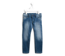 Jeans im Used-Look