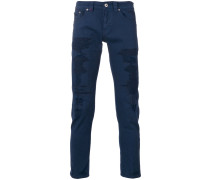 - Skinny-Jeans in Distressed-Optik - men