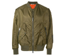Couture bomber jacket