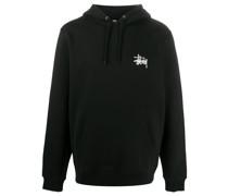 logo-printed hoodie