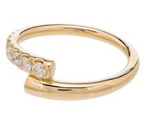 18kt 'Lola' Goldring mit Diamanten