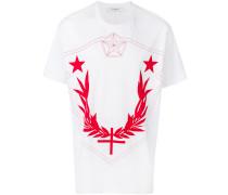 Columbian-fit crest print T-shirt