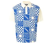Poloshirt mit geometrischem Print