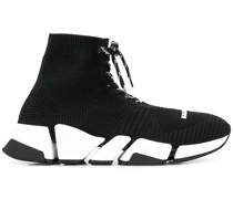 'Speed' Sneakers mit Schnürung