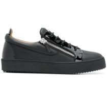 'Frankie' Sneakers mit Reißverschlüssen