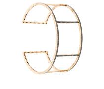 18kt 'Cuff Wire' Rotgold-Armspange mit Diamanten