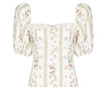 Arancini Bluse mit Blumen-Print