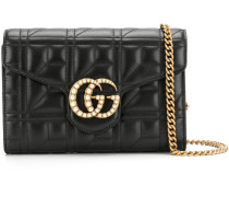 GG Marmont chain wallet