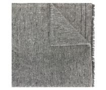 Schal mit ausgefransten Enden