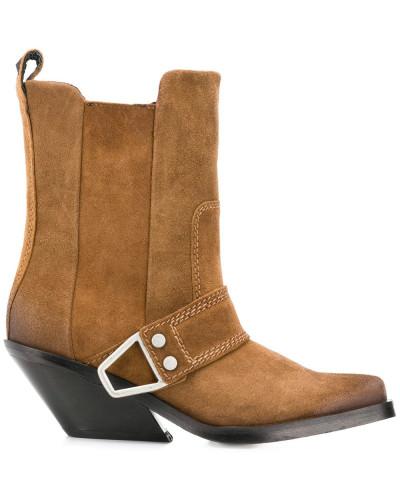 Western-Stiefel mit Blockabsatz