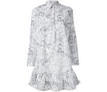 Hemdkleid mit Kaktus-Print - women - Baumwolle
