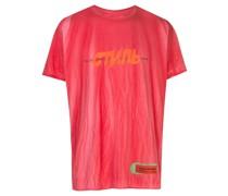 T-Shirt mit Spray-Print