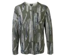 abstract print jumper