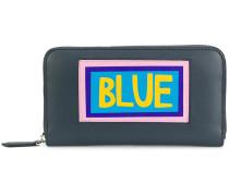 appliqué wallet