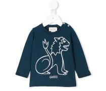 Langarmshirt mit Löwen-Print