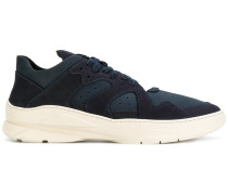 panelled runner sneakers