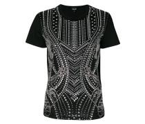 studded short-sleeved T-shirt