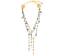 Halskette mit Kreuzen