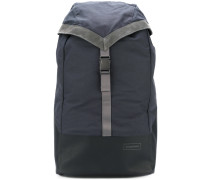suede trim backpack