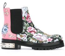 'Mod' Stiefel mit floralem Print - women