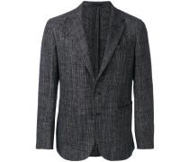 tonal suit jacket