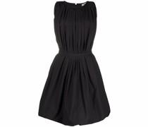 sleeveless balloon mini dress