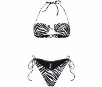 Bikini mit Zebra-Print