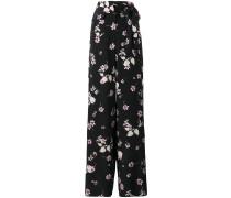 Weite Hose mit BlumenPrint