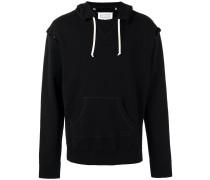 open seam hoodie - men - Baumwolle - 52