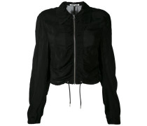 ruched bomber jacket - women - Bemberg Cupro® -