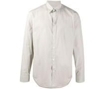 Geknöpftes Popeline-Hemd