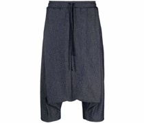 Baggy-Hose mit Jeansoptik