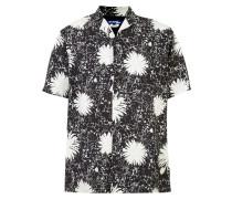 Florales Hemd mit kurzen Ärmeln - men - Bemberg