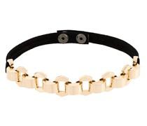Halskette mit Lederband