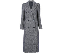 long herringbone coat