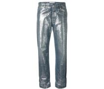 Schimmernde Jeans